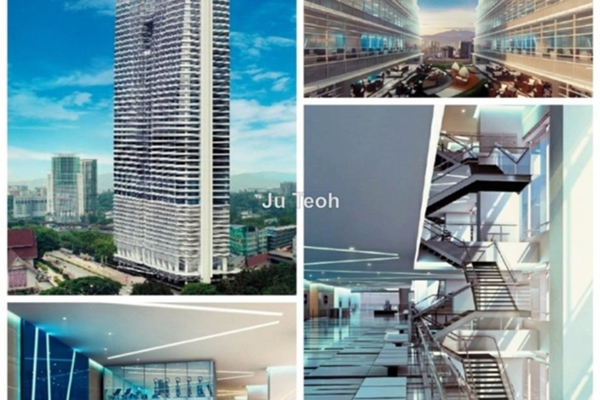 For Rent Office at Q Sentral, KL Sentral Freehold Unfurnished 0R/0B 8.8k