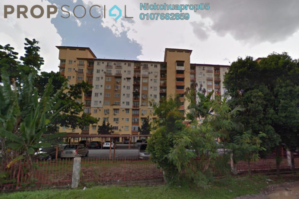 For Rent Condominium at Intana Ria, Kajang Freehold Fully Furnished 4R/2B 1.5k