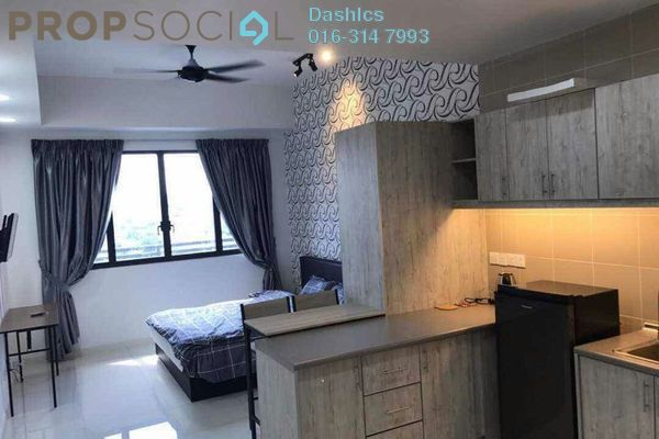 For Rent Condominium at Icon City, Petaling Jaya Leasehold Fully Furnished 1R/1B 1.4k