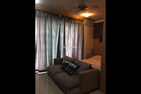 For Rent SoHo/Studio at Ritze Perdana 2, Damansara Perdana Leasehold Fully Furnished 0R/1B 1.6k