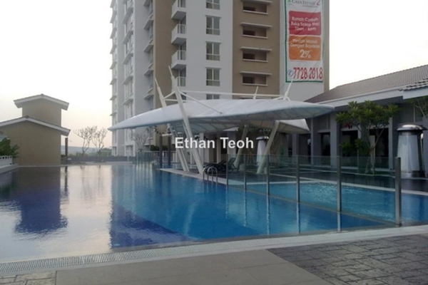 For Sale Condominium at Casa Indah 2, Tropicana Leasehold Semi Furnished 2R/2B 638k
