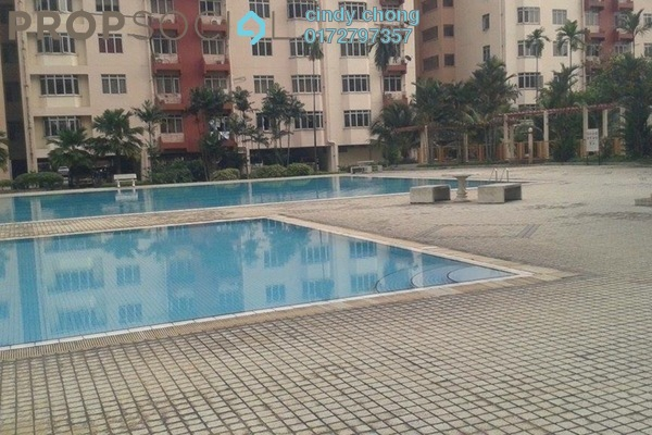 For Rent Condominium at Kelana Puteri, Kelana Jaya Leasehold Semi Furnished 3R/2B 1.6k