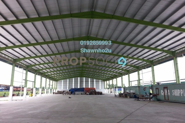 For Rent Factory at Kampung Telok Gong , Port Klang Leasehold Unfurnished 0R/6B 51.6k
