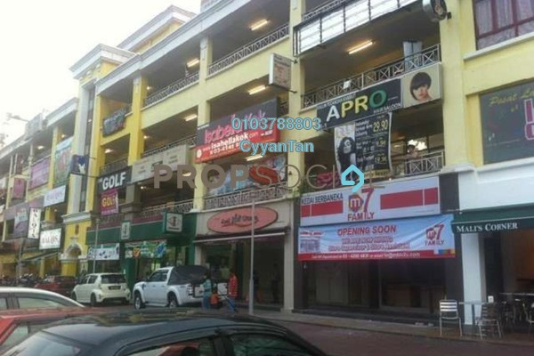 For Rent Shop at Danau Kota, Setapak Leasehold Semi Furnished 0R/0B 3.8k