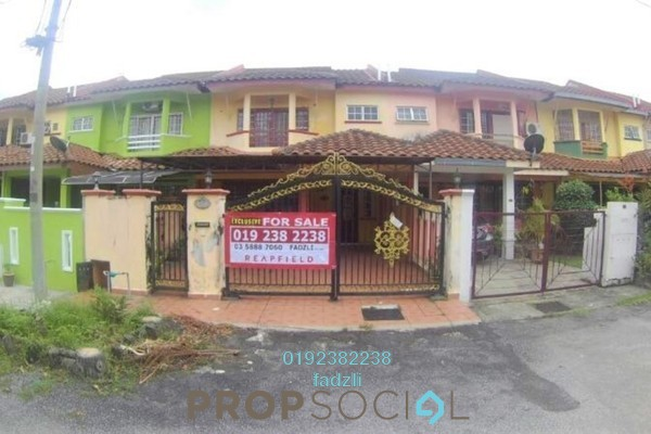 For Sale Terrace at Saujana Puchong, Puchong Leasehold Semi Furnished 4R/3B 520k