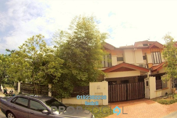 For Sale Terrace at Glenpark, Shah Alam Freehold Semi Furnished 4R/4B 1.3m
