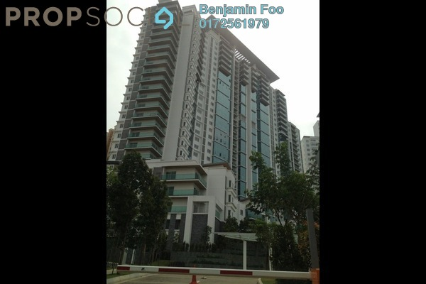For Rent Condominium at Surian Residences, Mutiara Damansara Freehold Fully Furnished 3R/4B 4k