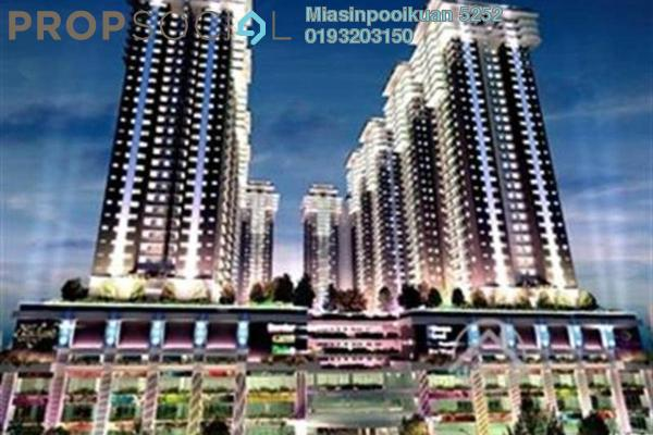 For Rent Condominium at Maxim Citilights, Sentul Leasehold Semi Furnished 3R/2B 1.3k