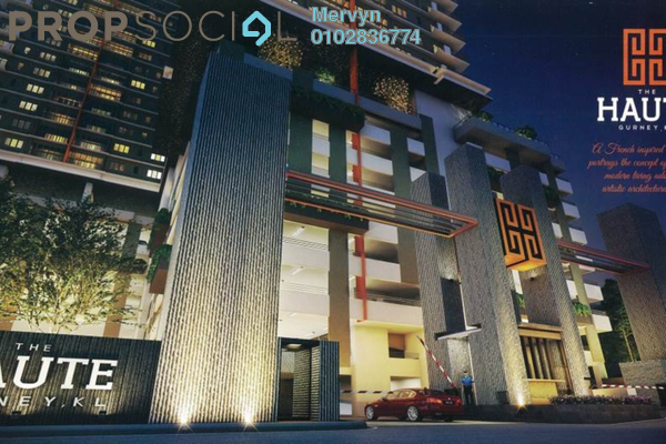 For Sale Condominium at The Haute, Keramat Leasehold Unfurnished 3R/2B 500k