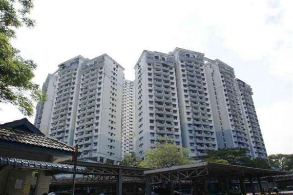 For Rent Condominium at Vista Komanwel, Bukit Jalil Freehold Unfurnished 6R/3B 2.8k