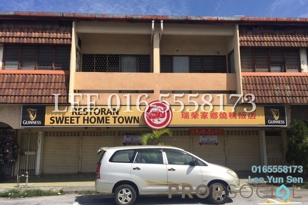 For Rent Shop at Taman Tawas Baru, Ipoh Freehold Unfurnished 0R/6B 6k