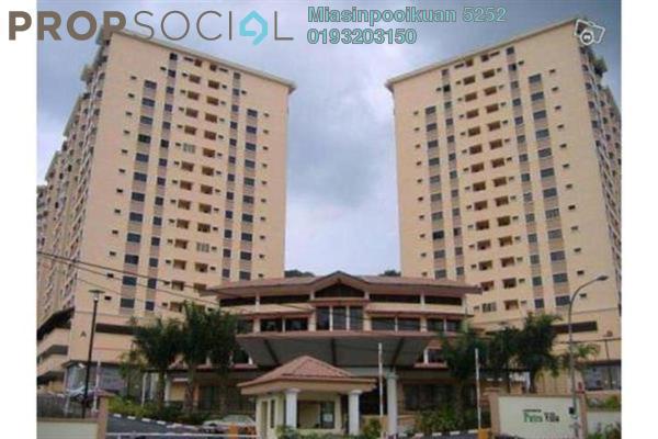 For Rent Condominium at Putra Villa, Gombak Freehold Semi Furnished 3R/2B 1.8k