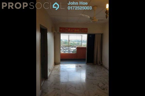 For Rent Condominium at Permai Ria, Jalan Ipoh Leasehold Semi Furnished 3R/2B 1.3k