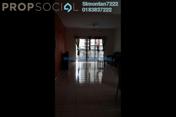 For Sale Condominium at Tiara Kelana, Kelana Jaya Leasehold Semi Furnished 4R/2B 628k