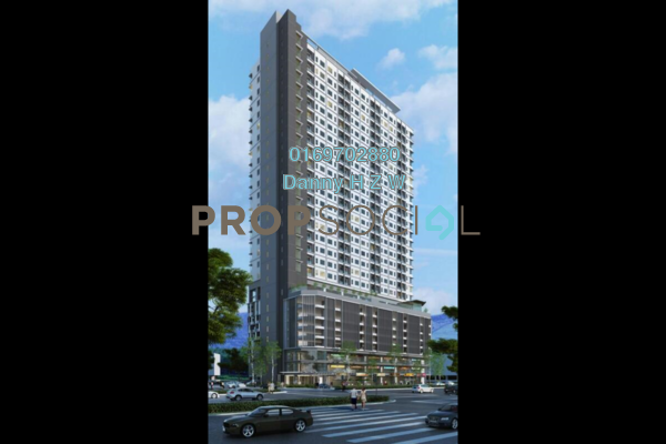 For Sale Serviced Residence at Danau Kota Suite Apartments, Setapak Leasehold Unfurnished 3R/2B 502k