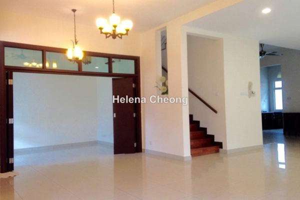 For Rent Semi-Detached at Setia Eco Park, Setia Alam Freehold Semi Furnished 3R/4B 3.5k