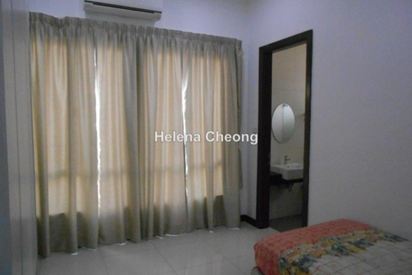 For Rent Semi-Detached at Setia Eco Park, Setia Alam Freehold Fully Furnished 4R/5B 5k