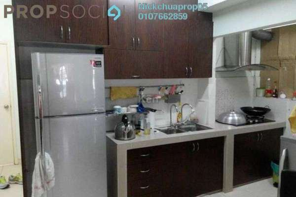 For Rent Apartment at Serdang Villa Apartment, Seri Kembangan Freehold Fully Furnished 3R/2B 1.25k