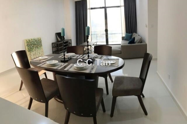 For Rent Condominium at Mirage Residence, KLCC Leasehold Fully Furnished 3R/4B 6k