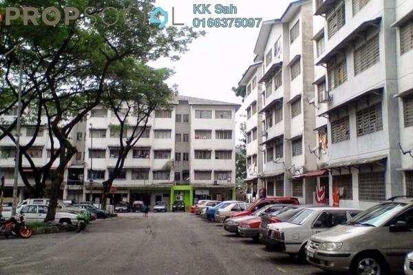 For Sale Apartment at Sri Cempaka Flat, Bandar Sri Damansara Freehold Unfurnished 2R/1B 93k