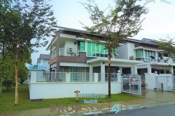 For Sale Terrace at Lavender Park, Denai Alam Freehold Semi Furnished 5R/6B 1.5m