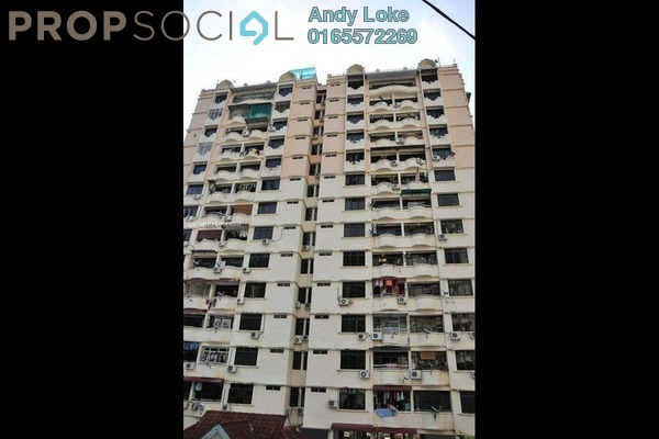 For Rent Apartment at Penhill Condominium, Air Itam Freehold Fully Furnished 3R/2B 1.2k