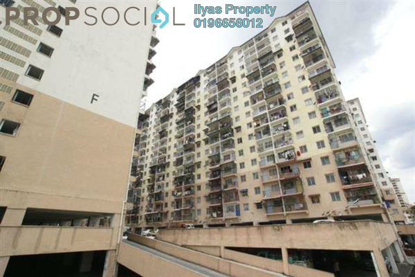 For Sale Apartment at Seri Nilam Apartment, Ampang Freehold Unfurnished 3R/2B 135k