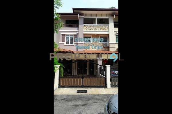 For Rent Terrace at Permai Villa, Ampang Leasehold Semi Furnished 5R/4B 2.2k