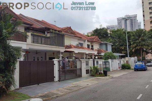 For Sale Terrace at Mutiara Homes, Mutiara Damansara Freehold Semi Furnished 4R/3B 1.2m