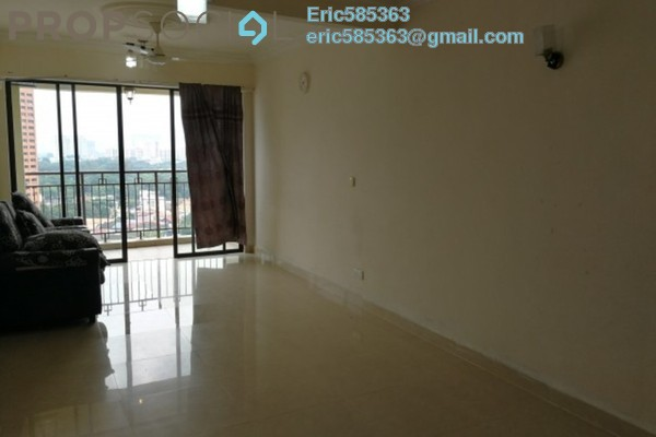 For Rent Condominium at Rivercity, Sentul Freehold Semi Furnished 3R/2B 1.5k