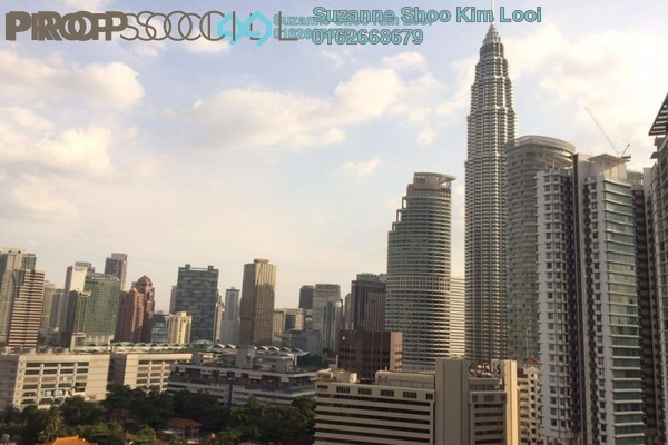 For Rent Condominium at Vipod Suites, KLCC Freehold Fully Furnished 1R/1B 3.5k
