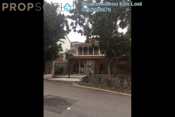 For Sale Bungalow at Bukit Bandaraya, Bangsar Freehold Semi Furnished 5R/4B 4.68m