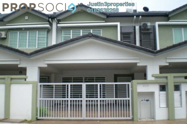 For Rent Terrace at Double Green Residence, Ipoh Leasehold Fully Furnished 4R/3B 1k