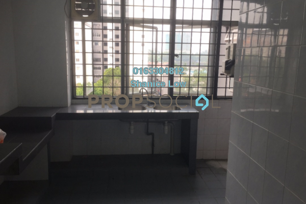 For Rent Condominium at Suria KiPark Damansara, Kepong Freehold Semi Furnished 3R/2B 1.2k
