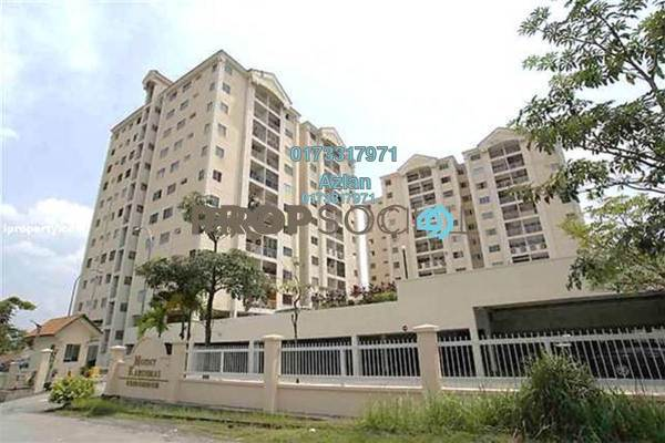 For Sale Condominium at Mount Karunmas, Balakong Leasehold Unfurnished 3R/2B 255k