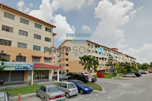 For Sale Apartment at Taman Aman Perdana, Meru Freehold Unfurnished 3R/2B 95k