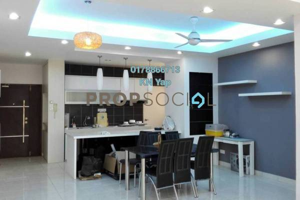For Rent Condominium at Greenview Residence, Bandar Sungai Long Freehold Fully Furnished 4R/2B 1.6k