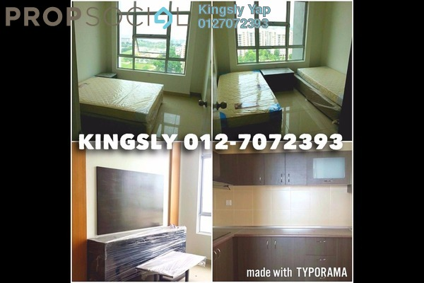 For Rent Condominium at The Arc, Cyberjaya Freehold Fully Furnished 3R/2B 1.5k