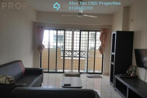 For Sale Condominium at Vista Komanwel, Bukit Jalil Freehold Semi Furnished 3R/2B 520k