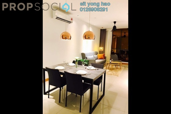 For Rent Serviced Residence at KL Gateway, Bangsar South Leasehold Fully Furnished 2R/2B 3.4k