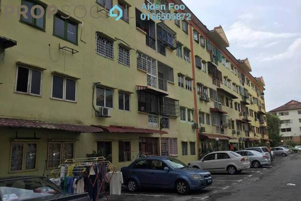 For Sale Apartment at Sri Anggerik 2, Bandar Kinrara Freehold Unfurnished 3R/2B 269k