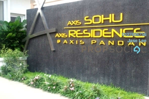 For Sale Condominium at Axis SoHu, Pandan Indah Leasehold Fully Furnished 1R/1B 285k