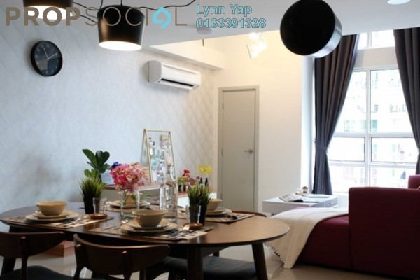 For Rent Condominium at Arte SW, Shah Alam Leasehold Fully Furnished 3R/2B 2.2k