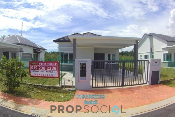 For Sale Bungalow at Kampung Lombong, Shah Alam  Semi Furnished 4R/2B 610k