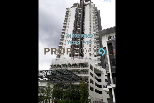 For Rent Condominium at Selayang 18, Selayang Leasehold Semi Furnished 3R/2B 1.8k