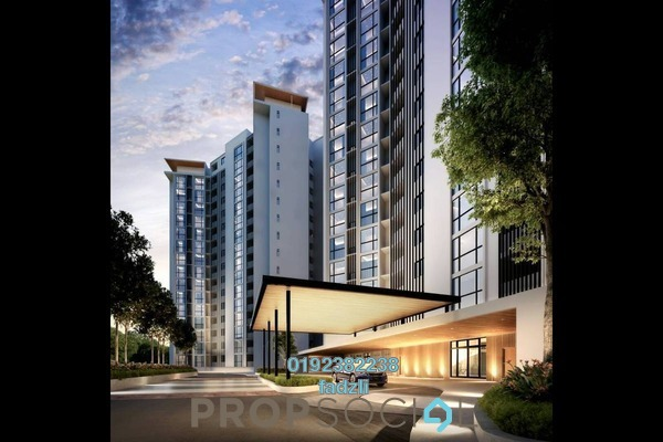 For Sale Condominium at Section 13, Shah Alam Freehold Unfurnished 3R/2B 611k
