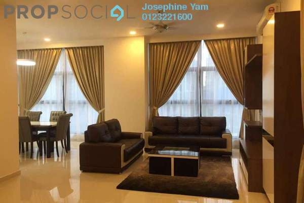 For Rent Condominium at Mirage Residence, KLCC Freehold Fully Furnished 2R/2B 3.5k