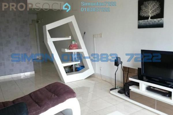 For Rent Condominium at Casa Indah 1, Tropicana Leasehold Fully Furnished 4R/2B 2.3千