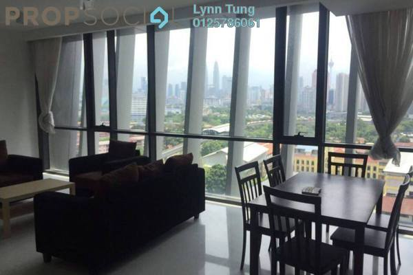 For Rent Condominium at The Capers, Sentul Freehold Fully Furnished 3R/4B 3.8k