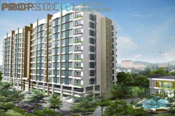 For Rent Condominium at Kelisa Residence, Seberang Jaya Freehold Unfurnished 3R/2B 900translationmissing:en.pricing.unit